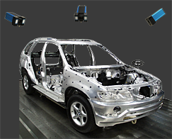 D12 Automotive multiple camera system
